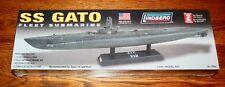 US Navy WWII Sub SS GATO - 1:240 Scale Submarine - New - Lindberg