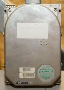 Vintage Seagate ST-238R 31MB RLL hard drive tested 9112
