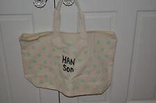 Rare Brand New Hanson Logo Bag!