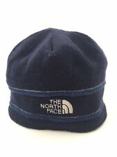 THE NORTH FACE Navy Blue Beanie Skullcap Winter Knit Hat Ski Cap Adult One-Size