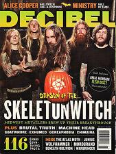 DECIBEL No. 085 November 2011 SKELETONWITCH Alice Cooper Ministry Machine Head