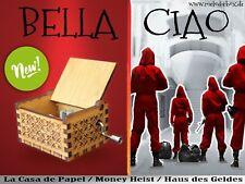Bella Ciao Haus des Geldes / Money Heist / La Casa de Papel Spieluhr Musicbox
