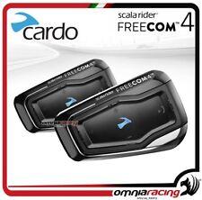 FRC40116 Cardo Scala Rider FREECOM 4 DUO intercom conference 3 motorcycle 1,2 KM