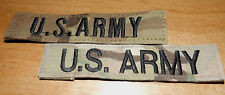 Nice Lot of TWO V Backed Multi-CAM US ARMY Pocket tapes for Uniform