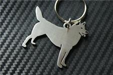 HUSKY DOG Keyring porte-clés keychain SLEDE ALASKAN SIBERIAN SLEDDGING WORKING