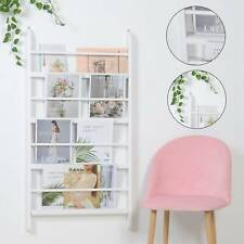 Wall Mounted Children Bookcase Kids Display Bookshelf Storage Unit Shelving Rack