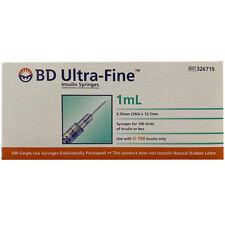 BD Ultra Fine 1ml Insulin Syringe - Pack of 100
