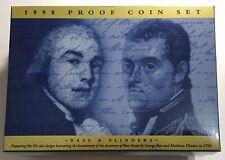 1998 Australia Proof Set - GEM FDC Coins - Full Mint Packaging