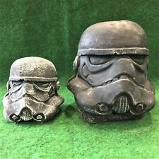 Large Concrete Stormtrooper Star Wars Theme Garden Ornament Frost Protected Gift