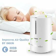 Onson 4.5L Ultrasonic Home Air Humidifier Air Diffuser Purifier Lonizer Atomizer