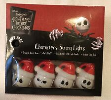 NIGHTMARE BEFORE CHRISTMAS SANTA JACK SKELLINGTON MUSICAL STRING LIGHTS LED Gift