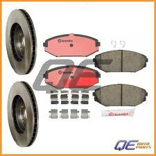 Front Disc Brake Rotors And Disc Brake Pads Kit Brembo for Honda Odyssey 99-04