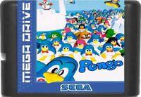Pengo (1995) 16 Bit Game Card For Sega Genesis / Mega Drive System
