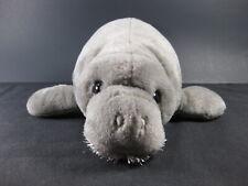 "MANATEE  SEA COW Wild Republic 14"" Plush Toy Stuffed Ocean Mammal"