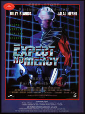 EXPECT NO MERCY__Original 1995 Trade Print AD promo__BILLY BLANKS__LAURIE HOLDEN