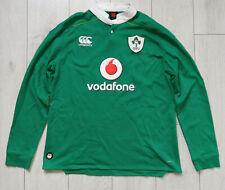 "Ireland Rugby 2016/2017 ""L"" Shirt Canterbury Home Jersey IRFU Trikot Top Long"