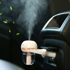 US Car Air Humidifier Diffuser Essential Oil Ultrasonic Aroma Mist Purifier