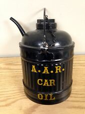 A.A.R. Car Oil Antique Oil Can Wall Advertising Display Railroad