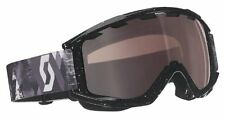 Scott Sanction Ski Goggle Geoscape Black with Illiminator 50 Lens 224595