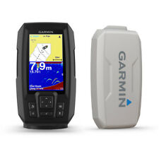GARMIN STRIKER PLUS 4 FISHFINDER +TRASDUTTORE POPPA + COVER 010-01870-01