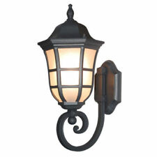 TP Lighting Black Finished Outdoor Wall Light Fixture For Home Decor TPLN0006-WU