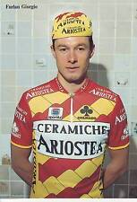 CYCLISME carte cycliste  FURLAN GIORGIO  équipe VINI CALDIROLA