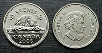 Canada 2005P Proof Like Gem Five Cent Nickel!!