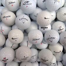 100 Markenmix Golfbälle AAAA-AA + 50 Holztees Gratis, Top Qualität !!!