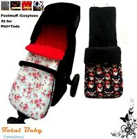 Footmuff /Cosytoes fit for Phil&teds - Single -Disney Fabric