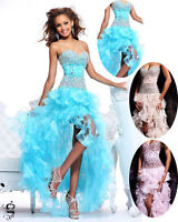 Ballkleid Abendkleid Partykleid Gala Kleid Babycat collection Dress Blau 42 M83