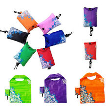 Foldable Handy Shopping Bag Reusable Tote Pouch Recycle Storage Handbags Random