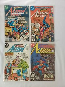 DC Comics Superman In Action Comics Lot of 4 FN - NM+ *HUGE AUCTION GOING ON*
