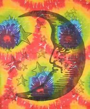 Tie Dye Tapestry : Moon - 40 x 45 | Hippie Tapestries | Home Decoration