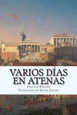 Varios días en Atenas by Frances Wright (2015, Paperback)