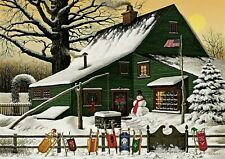 Charles Wysocki Cocoa Break At .....Canvas Stretched  S & N LE With COA # 64/150