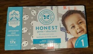 The Honest Company Size 1 Diapers 80 Count Box