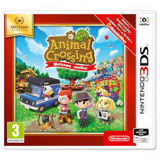 Nintendo 3ds Game Animal Crossing Leaf Welcome Amiibo