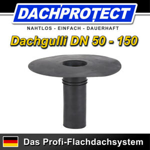 DACHPROTECT EPDM Klebe-Gully DN 100 (Flansch 320 mm /Stutzen 243 mm)