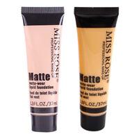 MISS ROSE Matte Concealer Repair Nourish Cover Face Makeup Liquid Concealer Q3Q9
