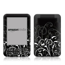 Kindle Keyboard Skin - B+W Fleur - Sticker Decal