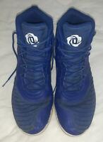 Adidas CLU 600001 D ROSE SWeb Men's Dark Blue Baketball Shoes Size US 13 Pre Own