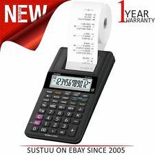 Casio Compact 12 Digit Display Printing Calculator|Euro Conversion|HR8RCE-BK|NEW