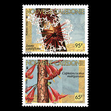 New Caledonia 1996 - Native Flowers Flora - Sc 734/5 MNH