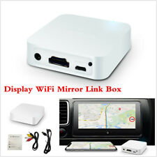 Car WiFi Display Mirror Link Box Adapter Standard DLNA Airplay For Android iOS