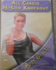 CIA 2805 Amy Bento All Cardio Hi/Low Knockout DVD New Kickboxing Fitness Workout