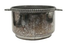 Art Deco Silver Plated Bowl from The Waldorf Astoria