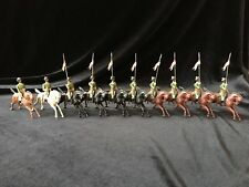 Britains Extremely Rare Set 60 - Indian Army Cavalry Display - 1st Version 1896