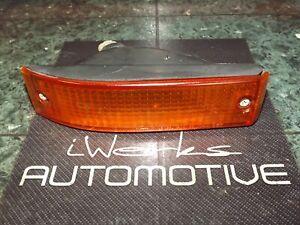 91-93 OEM Daihatsu Charade G102 front bumper blinker / turn signal light lamp FR