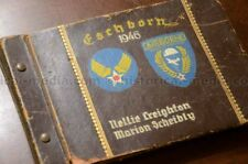 WWII AIRBORNE TROOP CARRIER PHOTO ALBUM - BEAUTIFULLY PAINTED