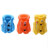 Children Inflatable Swim Vest Baby Swimwear Life Jacket Swimming Aid  Swimsuit